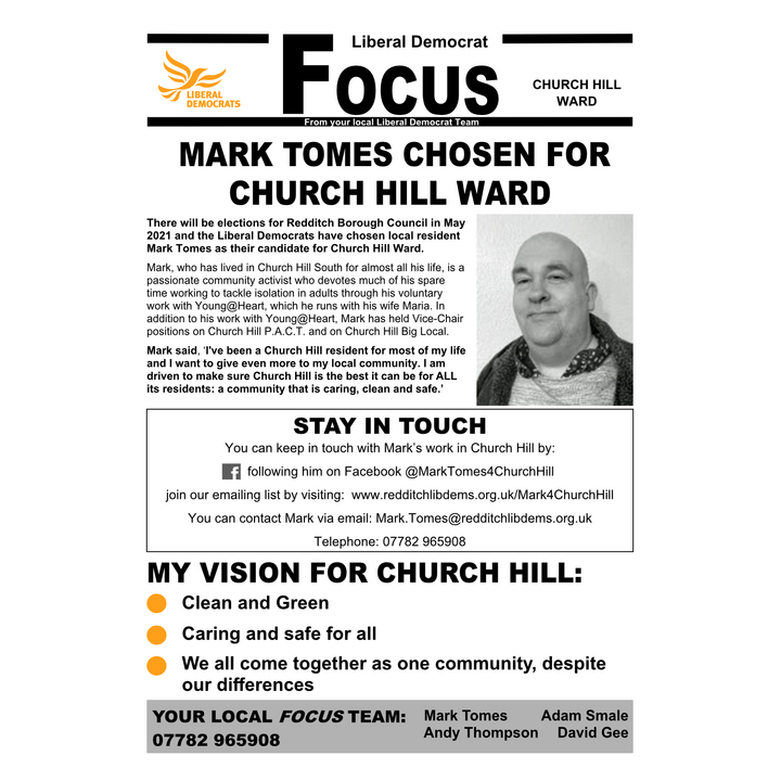 August Focus Front