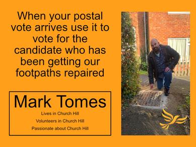 Mark Footpaths