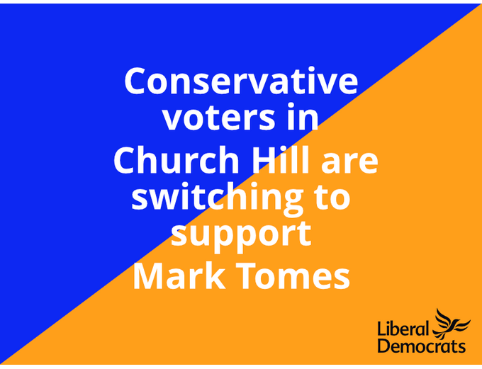 Conservative voters in Church Hill are switching support to Mark Tomes